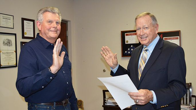 Stout choice: County names new commissioner