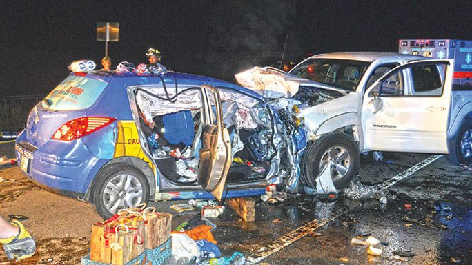 Teen killed: Wrong-way driver to blame