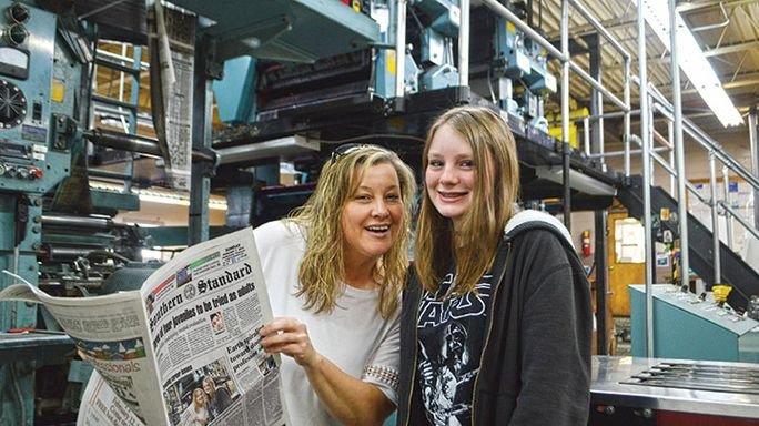 Pressing career issues: Students learn ropes job shadowing