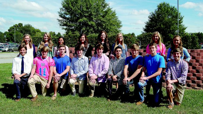 Homecoming Court 2014