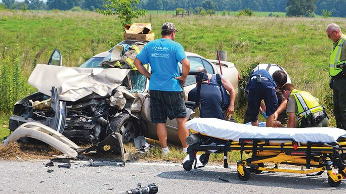 One killed, two injured in head-on crash