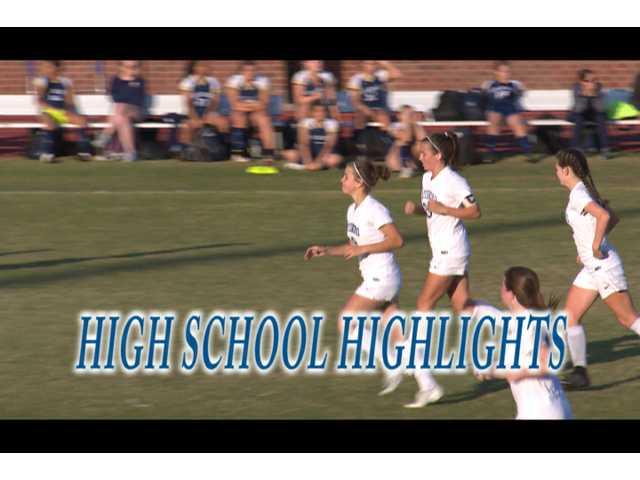 HS Highlights - SHS girls soccer vs TCC