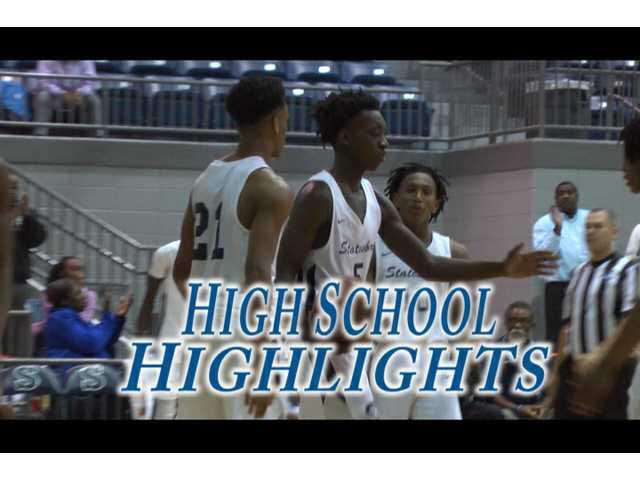 HS Highlights - Statesboro basketball vs New Hampstead