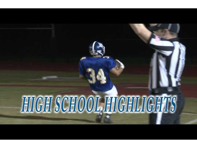 HS Highlights - Oct. 31, 2014