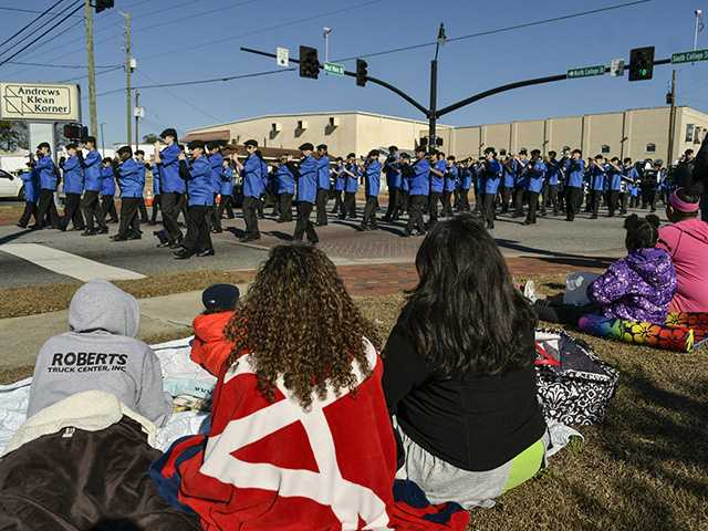 MLK Day parade draws diverse crowd downtown