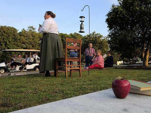 Historical Society's 'Tales from the Tomb' set for Oct. 13