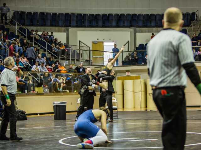 BA Wrestles Away State Championship!