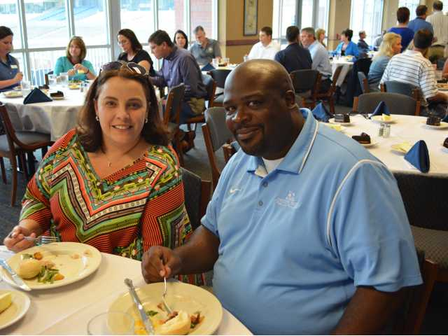 Paint the Town Blue Coach's Luncheon