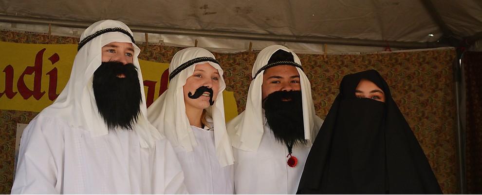 Students Represent Saudi Arabia