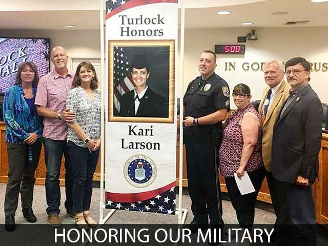 Turlock honors active military with banner program