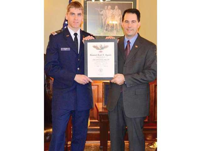 UWP student receives Civil Air Patrol highest honor