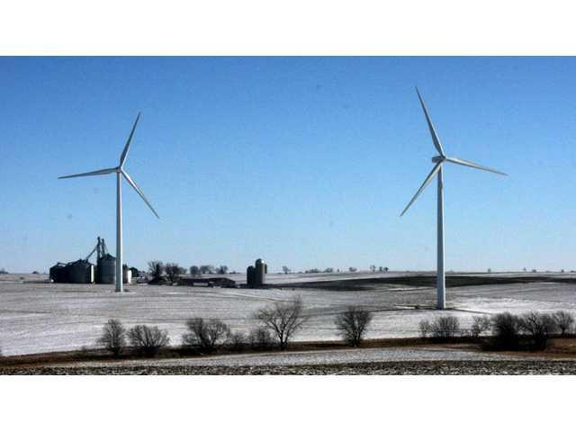 Quilt Block Wind Farm updates county board