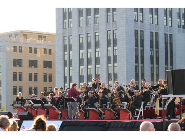 Neophonic Jazz Orchestra performing in Richland Center