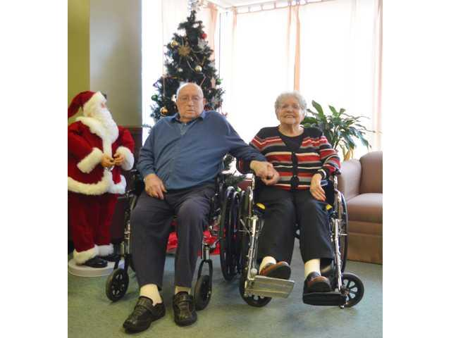 Fritz and Ruth Reiger celebrate 75th anniversary
