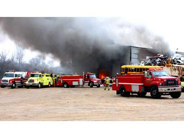 Fire destroys First Capital Salvage