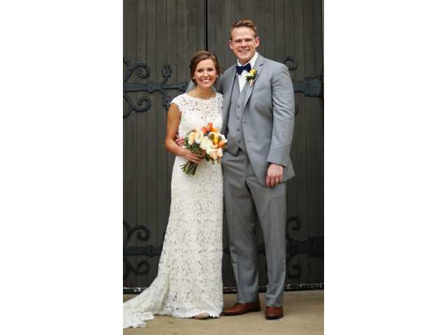 Andrea Beres bride of  Jacob Rosemeyer on Oct. 28