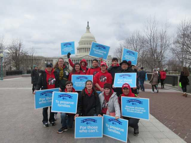 Locals take part in March for Life