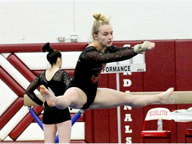 P/B/L gymnasts compete at Middleton Invite