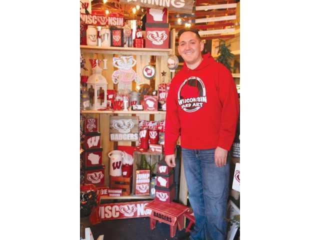 Brandt shares artistic  talents at Kieler shop
