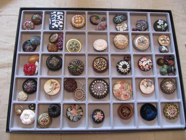 A bevy of beautiful buttons