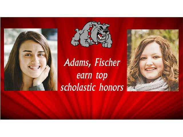 Adams, Fischer earn top scholastic honors at BHS