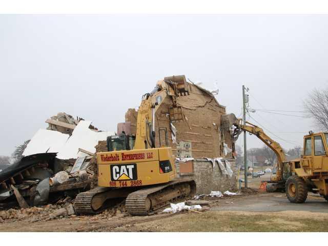 WPA gymnasium comes down