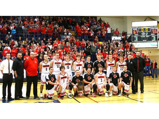 #2 Redbirds sink Pirates on the way to state