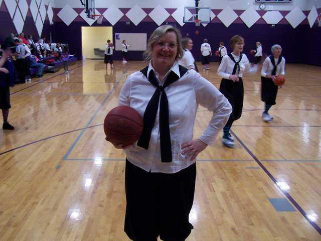 Boscobel teacher joins 'ladies of a certain age' for Granny Basketball