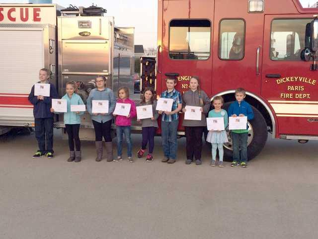 Winners announced in fire prevention poster contest