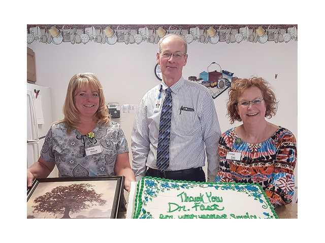 Dr. Fast's retirement ends lifetime of service to the Boscobel community
