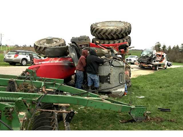 Tractor vs. Car in Lafayette County
