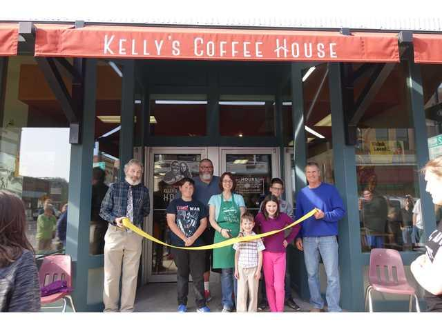 Grand opening celebrated at Kelly's Coffee House