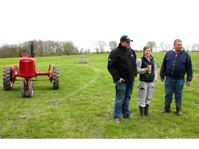CEO of Facebook visits farm in Blanchardville