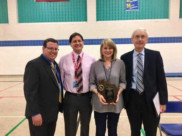 Runde named Teacher of the Year