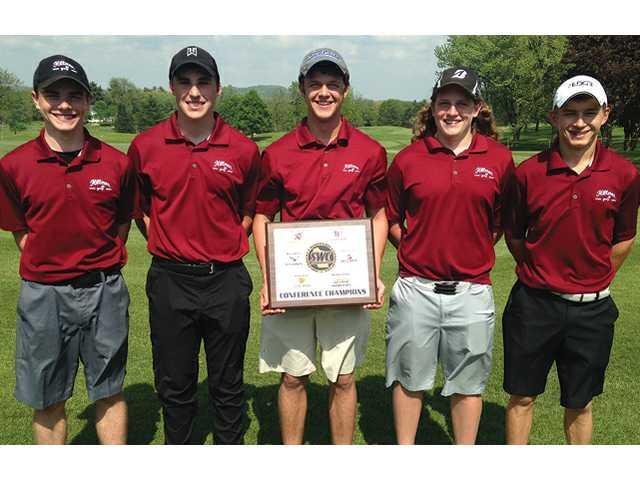 Rohrbach leads Hillmen to SWC boys golf title