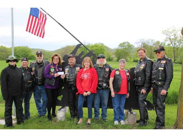 Legion Auxiliary presents Legion Riders donation