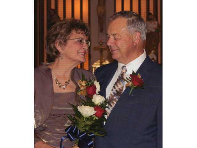 Rose Kuhn bride of  Jerome Adams on April 29