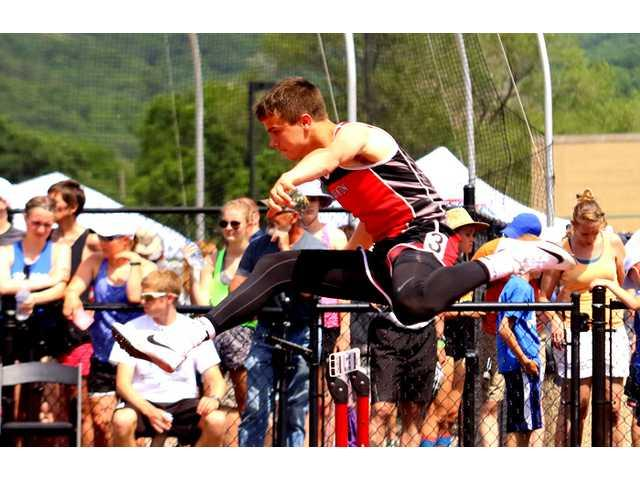Rielly clears hurdles on his way to state medals