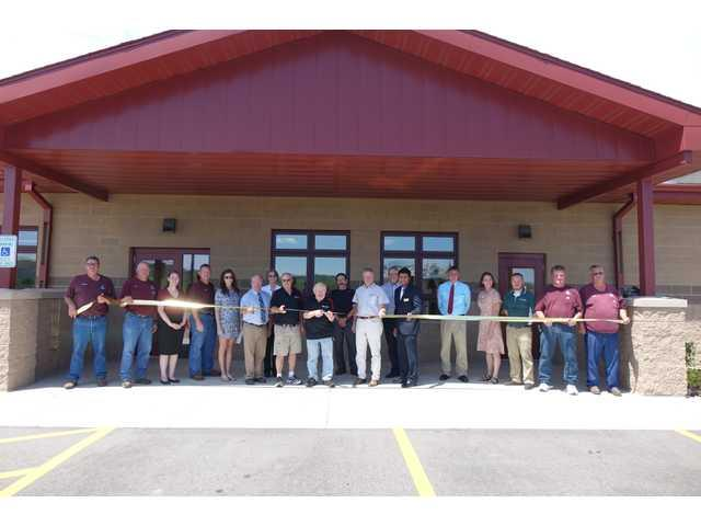 Grand opening ceremony held at Wastewater Recycling Facility
