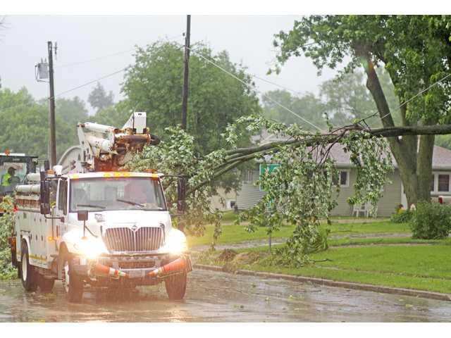 Grant County sees significant damage June 28