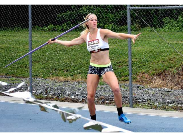 Hirsbrunner earns All-American status in heptathlon