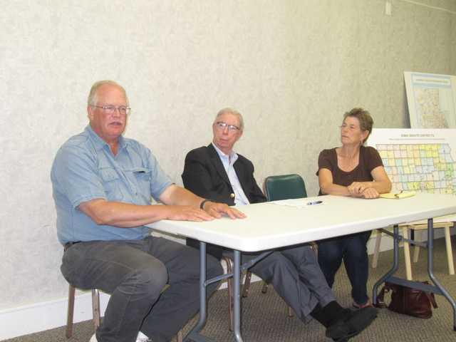 'Gerrymandered' maps discussed at public meeting