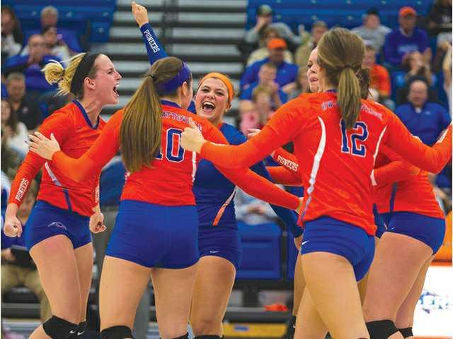 Pioneer volleyball fueled with energy