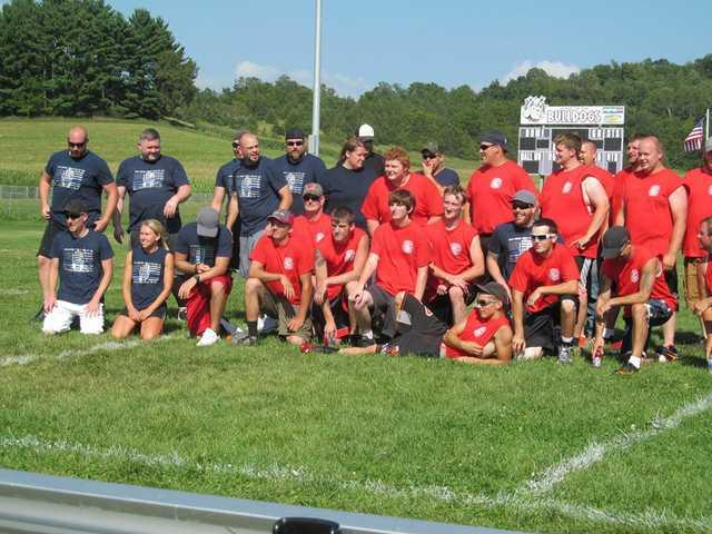Flag football game raises needed funds