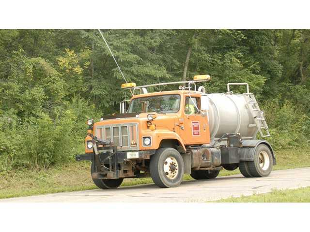 Spraying along roads in Crawford County – necessary, but ugly