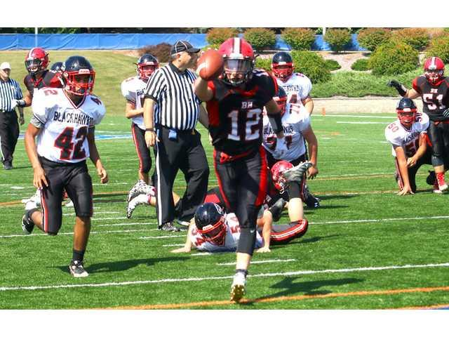 Balanced Black Hawk blows out Blackhawks