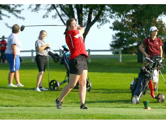 Lady Redbirds 2nd at Mt. Horeb