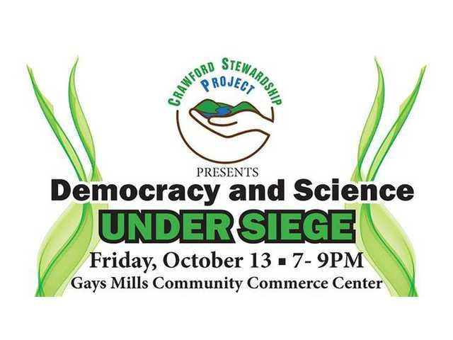 Gays Mills to host 'Attack on Science and Democracy' presentation