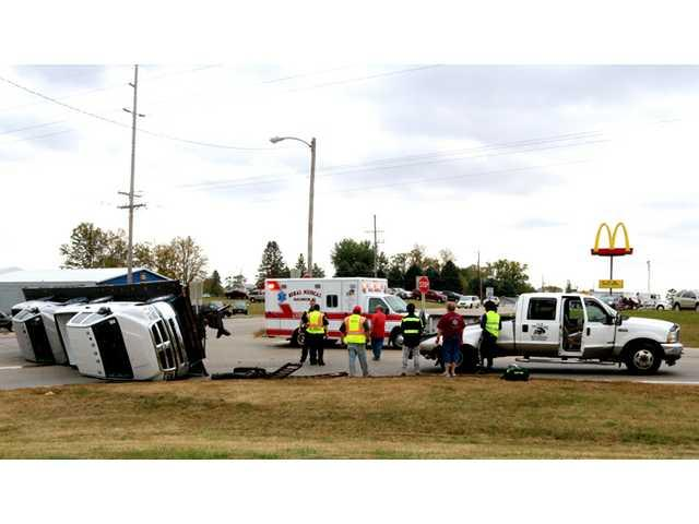 Hwy. 23 & 81 accident