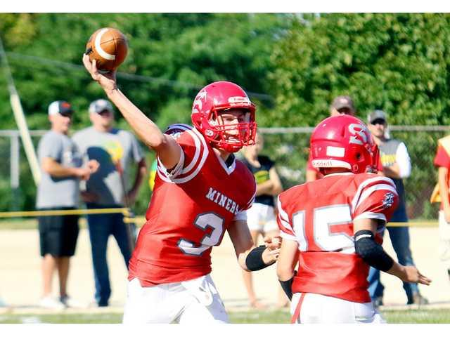 Miners run down by Vikings on Homecoming Day